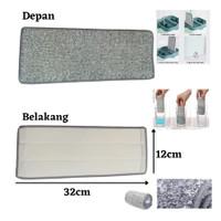 Bolde Refill Super Mop X Kain Pel Microfiber Supermop Isi Ulang MOP - Super MOP