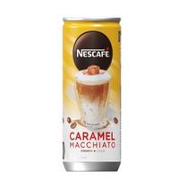 NESCAFE Caramel Macchiato Can 220 ml / kartonan / gojek only