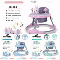 Baby Walker Spacebaby SB 509 - Biru