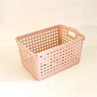 asvita keranjang / basket segi Bianca BK183 - dusty pink
