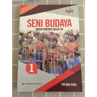 buku seni budaya kelas 7 erlangga revisi terbaru