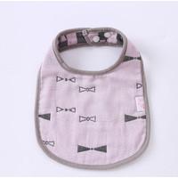 Celemek Bayi Balita Baby Bibs Tatakan Iler Air Liur Bayi - Ungu
