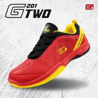 Sepatu Badminton Bulutangkis Hi-Qua G-Two Original