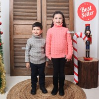 Sweater rajut anak pullover baju winter musim dingin hangat import
