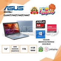 Asus X441BA-GA441/442/443/444T AMD DC A4 9125 Win10
