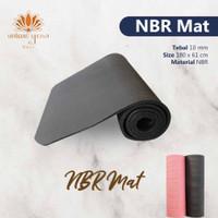 [[TERMURAH]] MATRAS YOGA NBR / MATRAS TEBAL 10 MM BERAT 1KG