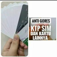 Anti gores E-KTP/SIM/NPWP/BPJS (1 Box/100 lembar)