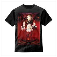 Baju Anak Kaos Anak 3D Kill This Love BLACKPINK - S - Hitam, S