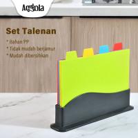 Set Talenan Anti Slip E82 Chopping Board Classified Cutting Board