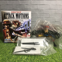 Action figure one piece attack motion kid nc