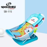 Spacebaby Babybather / Kursi mandi bayi / Kursi jemur bayi / Kado bayi