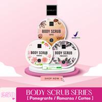 SCARLETT WHITENING BODY SCRUB by Felicya Angelista Original