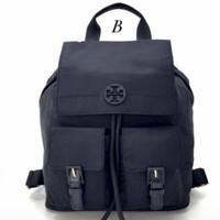 Backpack Wanita TB* Quinn Nylon Backpack - Hitam