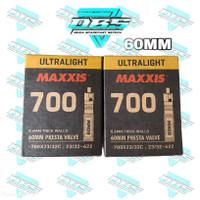 Ban dalam maxxis ultralight 700 x 18/25c maxxis 700c