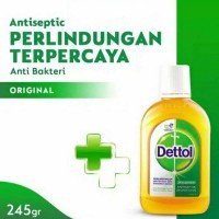 Antiseptik Cair DETTOL 245 ml
