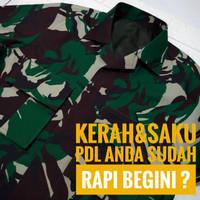 Baju PDL wool TNI Spek Pejabat - EB