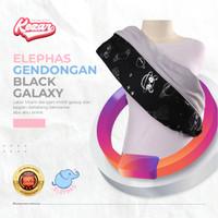 GENDONGAN BAYI PREMIUM ELEPHAS BLACK GALAXY | GENDONGAN BAYI - M = 51 - 65 Kg