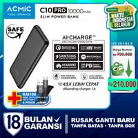 ACMIC C10PRO Slim 10000mAh AiCharge Power Bank (QC4 + PD + VOOC)