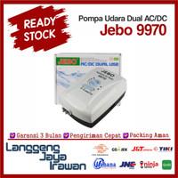 Jebo 9970 Pompa Udara Dual AC/DC Aerator Airator Air Pump P9970 2 way