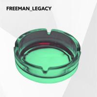Asbak Rokok Glow in The Dark - Freeman_Legacy - Green