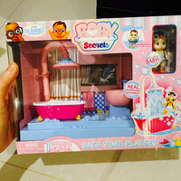 Baby secret bath time playset *ada 1 baby exclusive, new, ready*