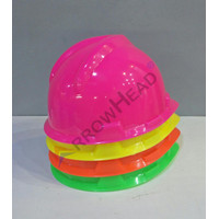 Helm Safety Proyek Arrow Head Neon Fastrack