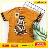 Baju Anak Kaos Anak Perempuan BT21 BTS ARMY - Shooky, 2