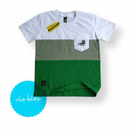 kaos baju anak laki / pakaian atasan anak cowok / baju distro anak - S