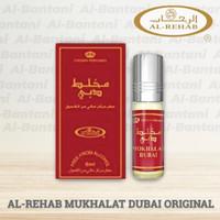 PARFUM AL REHAB MUKHALAT DUBAI ORIGINAL 6ml