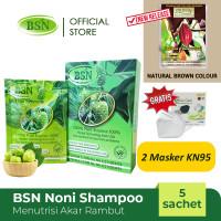 BSN Noni Shampoo (ADA BPOM) isi 5 sachets