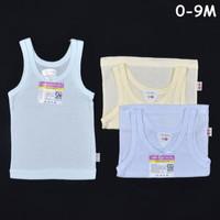 LIBBY VELVET JUNIOR Singlet / Kaos Dalam Bayi / Baby| Baju Bayi / Perl