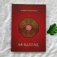 Al Quran Ar Razzaq Lansia Tajwid Warna Jumbo 25x35CM non terjemah