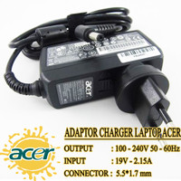 Adaptor Charger Laptop Acer Aspire One 722 725 756 751 532 532H D255
