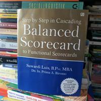 Buku Step by step in Cascading Balance Scorecard