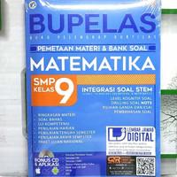 Buku SMP Kelas 9 BUPELAS PEMETAAN MATERI DAN BANK SOAL MATEMATIKA