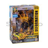 Deformation Transformers Action Figure   Mainan Robot Anak - Bumblebee