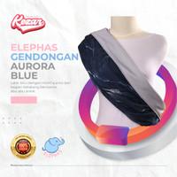GENDONGAN BAYI PREMIUM ELEPHAS AURORA BLUE | GENDONGAN BAYI - M = 51 - 65 Kg