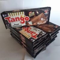 wafer tango 130 gram rasa coklat vanila ecer / grosir per dus