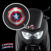 Stiker Captain Amerika Shield Stiker Mobil Sticker Timbul