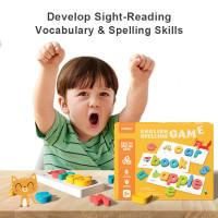 Mideer English Spelling Game Mainan Edukasi Huruf Angka Belajar Anak
