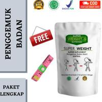 Penggemuk Badan Super Weight Gain /Apeton Zinc Kapsul dan Susu