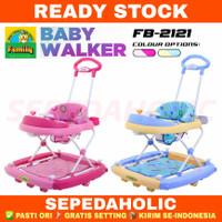 Baby Walker Family FB 2121 Musik Mainan Stir Dorong Belajar Jalan Bayi