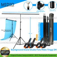 Background Stand Studio Foto Midio Tinggi 2M