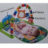 Mainan Bayi Baby Musical Play Gym Play Mat