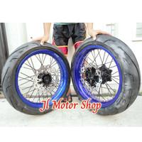 Paket Vleg Supermoto WR 155 Suprer Moto WR 155 Tromol Ori WR PNP + Ban