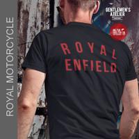 Kaos Baju Motorcycle Royal Enfield Vintage Motor Klasik Bikers Riders - L