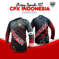 Baju Kaos Jersey Sepeda Roadbike / Jersey Sepeda Balap - L