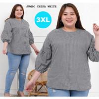 Baju Atasan Wanita Jumbo / Baju Wanita Ukuran Besar SALWA