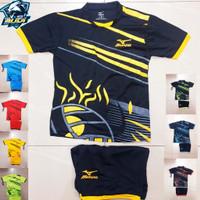 Baju olahraga ANAK API Jersey Bola Mizuno Futsal Volly Terlaris