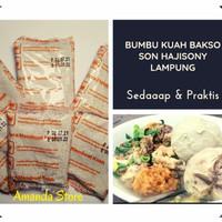 Bumbu Kuah Bakso Son Hajisoni - Khas Lampung / Sony / Soni